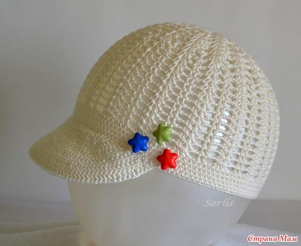 *Летняя кепочка для мальчика