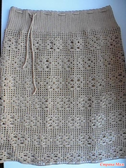 юбка опять любимая филейка все в ажуре вязание крючком