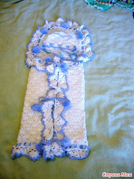 Конверт на выписку - Вязание для детей - Страна Мам