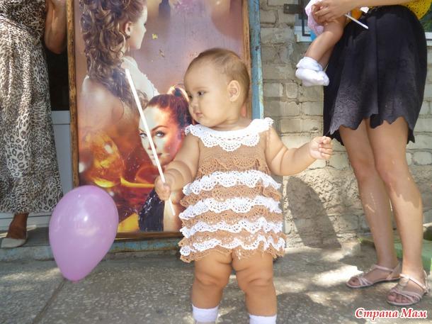 Платье маленькой принцесске