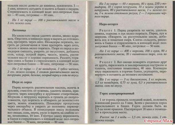 Консервирование и др. кулинарные рецепты 46 -53 стр