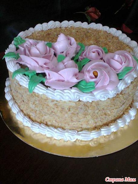 Мк торта наполеон по старинному рецепту 1,7кг.
