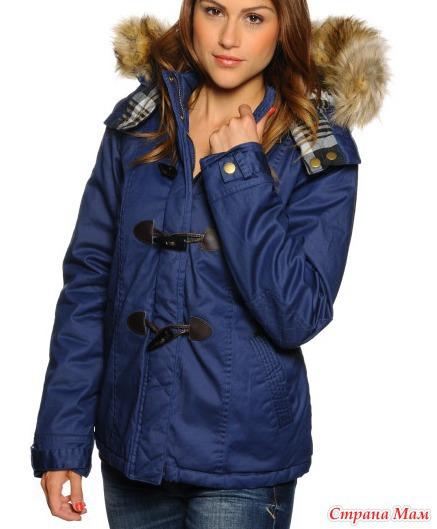 синяя куртка с чем носить фото