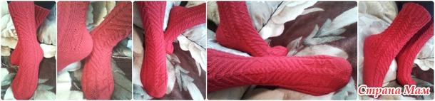 Вяжем вместе носочки Shazbat дизайнера Heidi Nick
