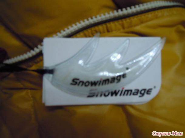 Мужской пуховик Snowimage+