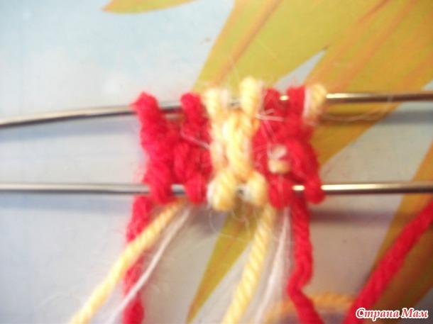 Вяжем носочки ГУРЯ с мыска