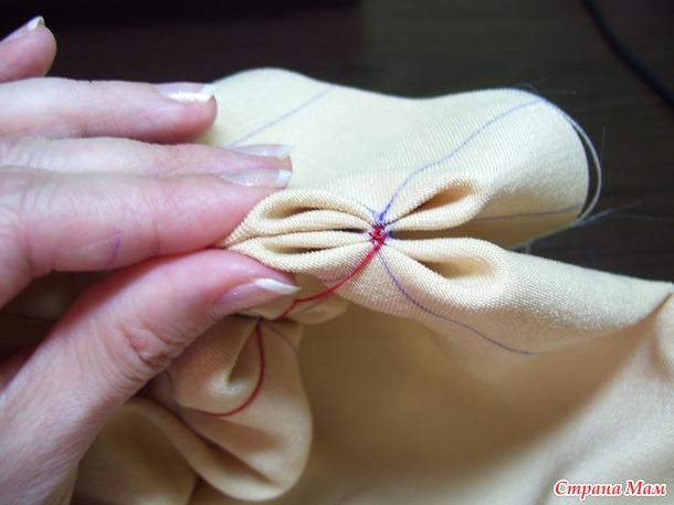МК по изготовлению подушки буфы