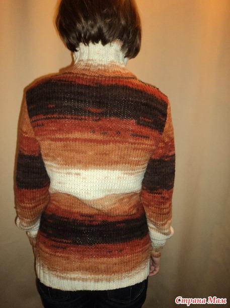 вязание из лана голд