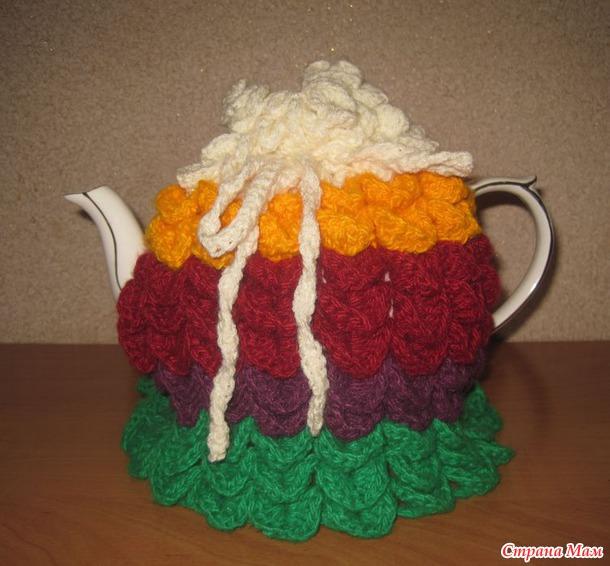 Грелка на чайник - Вязание - Страна Мам