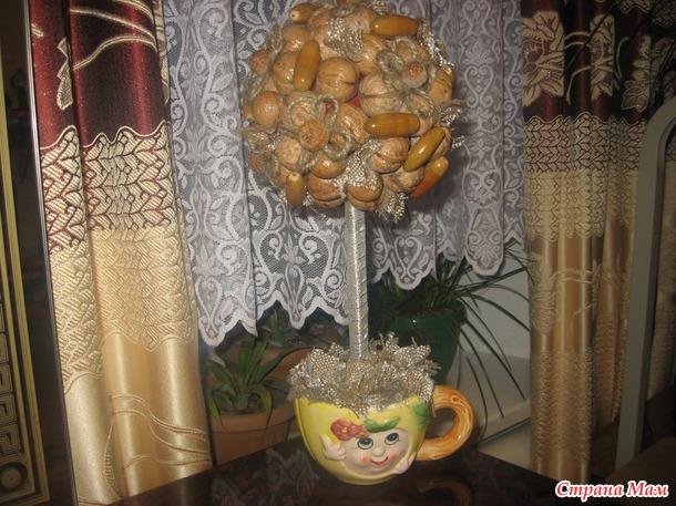 Ореховый топиарий