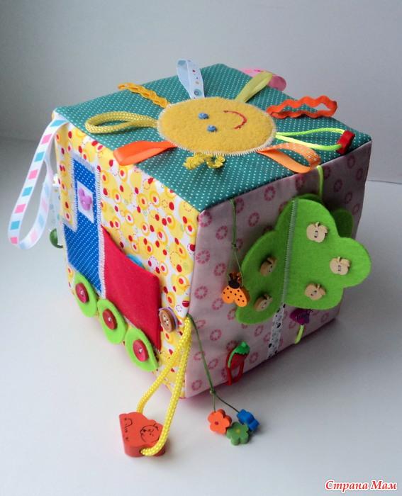 Картинки развивающий кубик своими руками