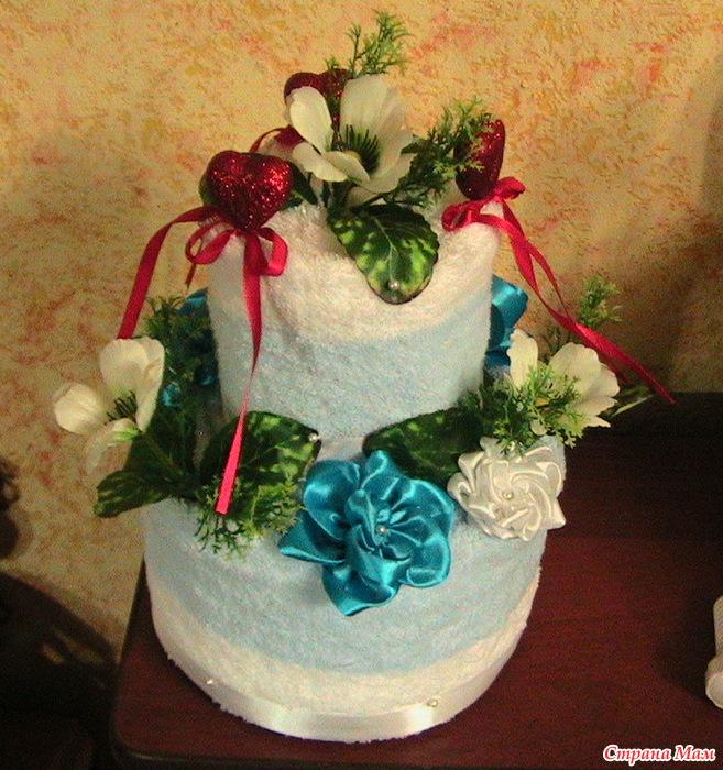 время поздравление к торту из полотенец лукинский