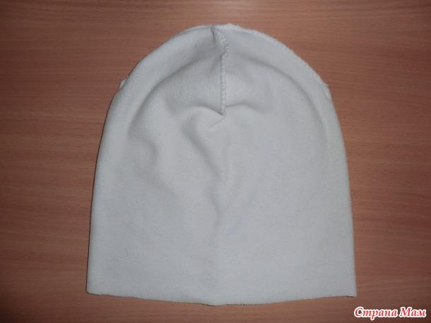мой мк вшивания подкладки в варежки и шапку на холода вязание