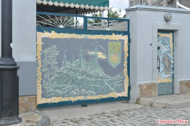 Евпатория. Поселок Заозерное.  Черноморское побережье.