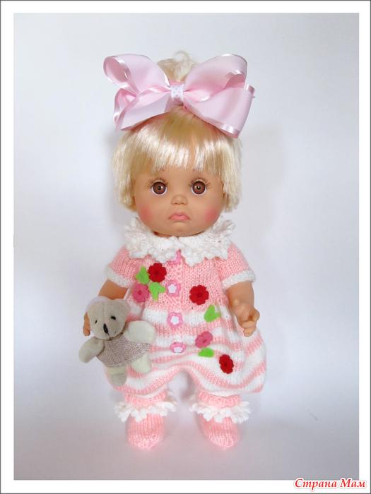 вязаная одежда на кукол Baby Face гардероб для куклы страна мам