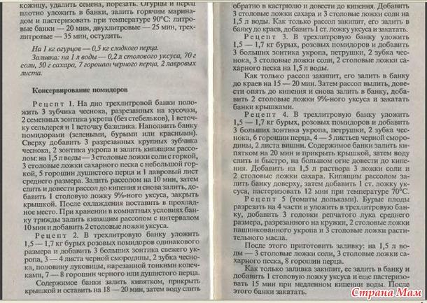 Консервирование и др. кулинарные рецепты 36-45 стр