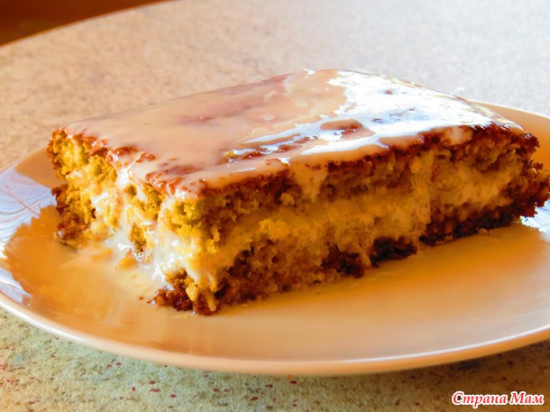 Манный пирог