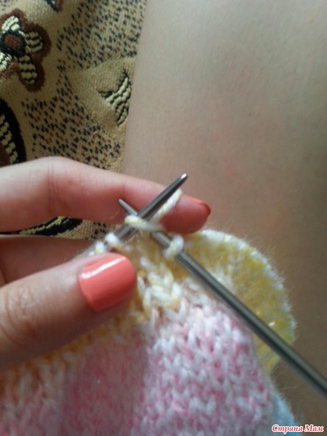 эластичное закрытие петель резинки спицами вязание страна мам