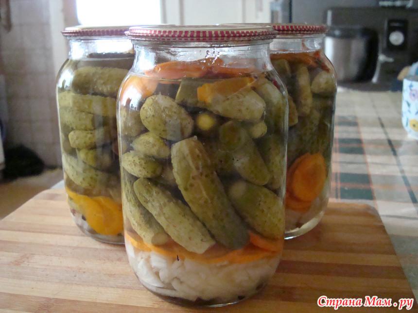 огурцы по чешски рецепты салат