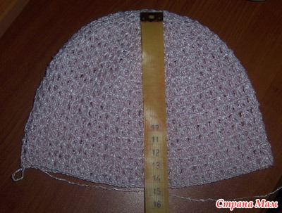 как определить глубину шапки шляпки кепки страна мам