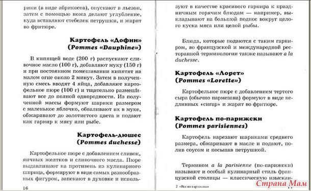 """Книга """"Все из картошки"""" 10-17 стр."""