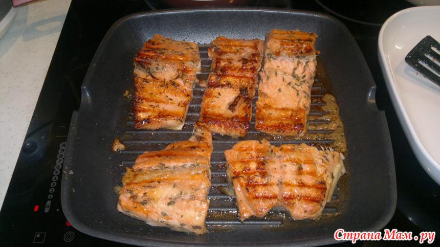кавилловская рыба на сковороде гриль рецепты с фото появились