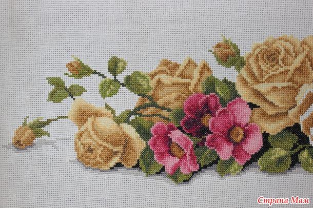 Розы готовы :)