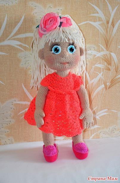 Вязаные куклы своими руками 410