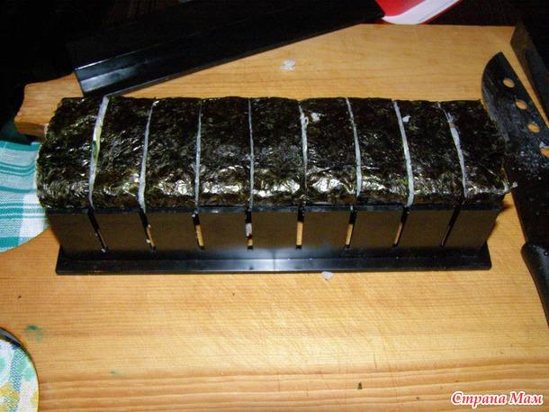 """Набор для приготовления роллов """"МИДОРИ"""". Дополнила-рецепт риса для суши."""
