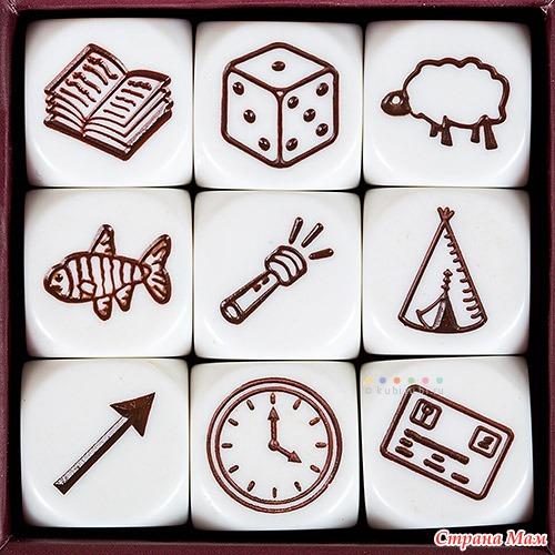 Картинки с кубиков историй