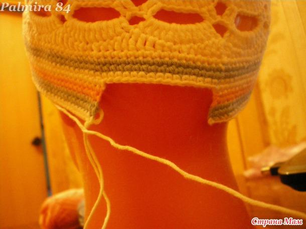 МК летняя кепка для девочки