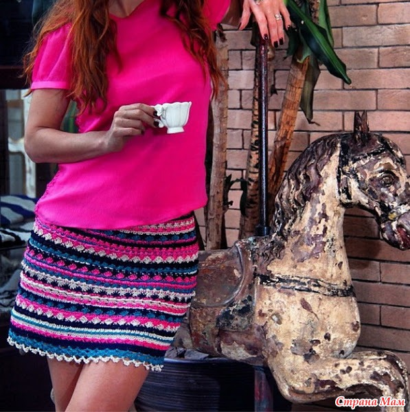 Платье от Ванессы Монторо вяжем вместе!