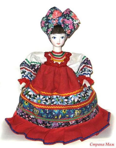 Куклы на чайник.