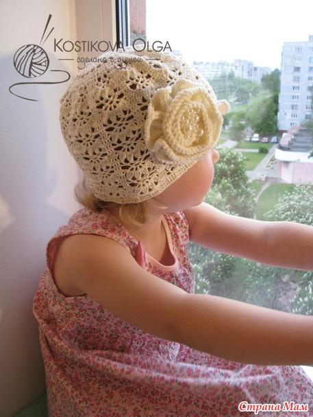 """Две стильных шапочки по мотивам """"Черной смородины"""" Ларисы Глинчак"""