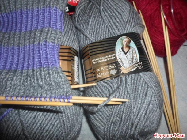 носки для начинающих мастер класс как вязать обыкновенные тёплые