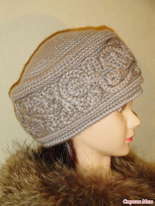 вязаная шапка кубанка морозные узоры вгу вязаные головные