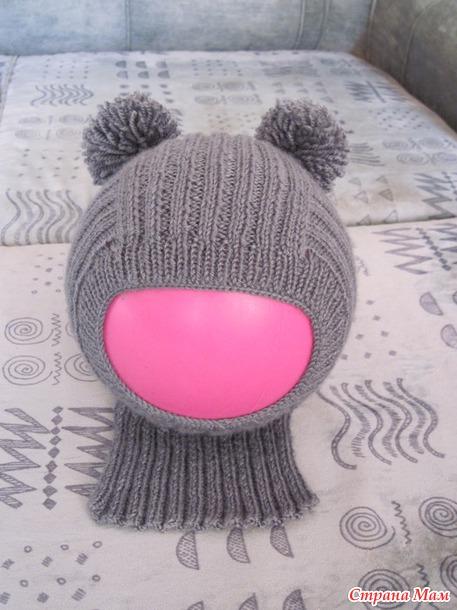 *Шапочка-шлем для сынульки