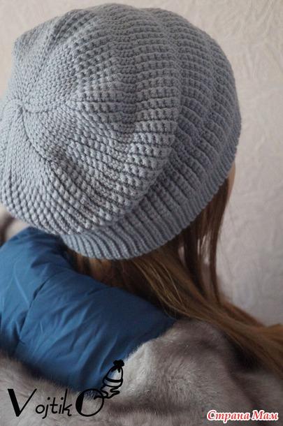 рецепт вязания зимней шапки крючком Novelty ярмарка см страна мам