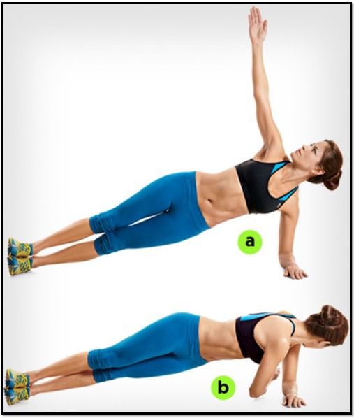 Упражнение планка или как сделать стальной пресс? (взято из интернета)