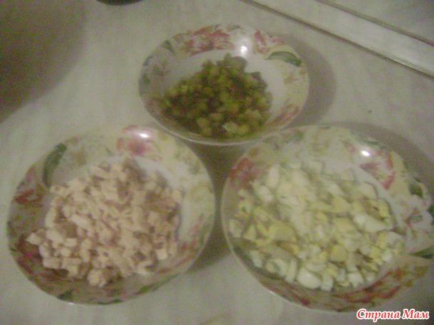 "Как Ленка готовила Аленку... Салат ""Аленка"")))"