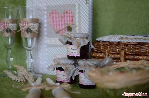 Свадебные аксессуары в стили кантри