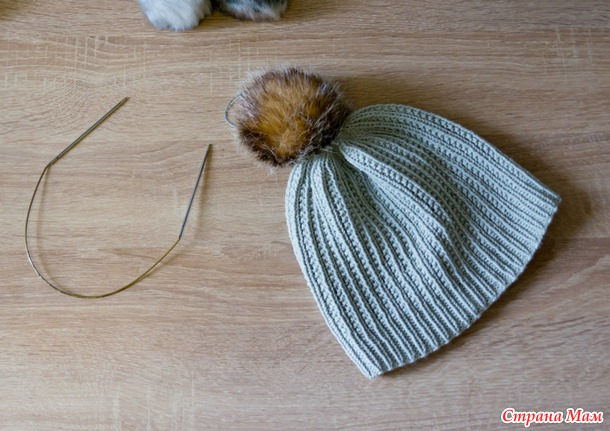 Две шапочки из DROPS