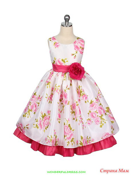 Моделируем детские платья. Часть 2.