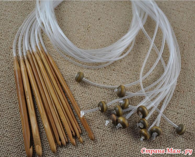 крючки для тунисского вязания страна мам