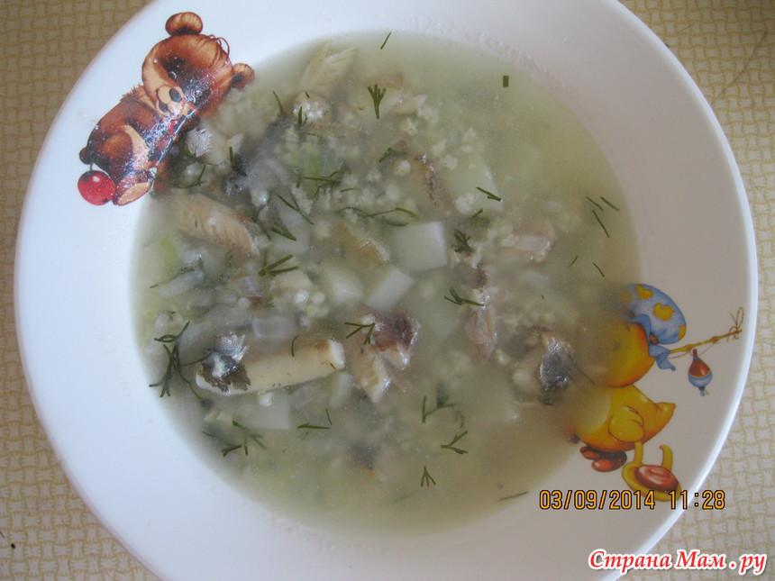 суп из мойвы рецепт