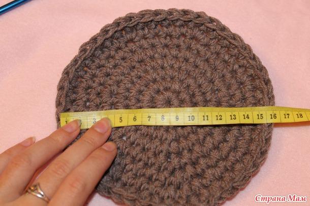 Комплект шапочка и снуд крупной вязкой (крючком)