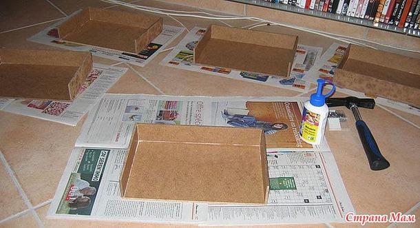 Коробка для хранения мулине + МК
