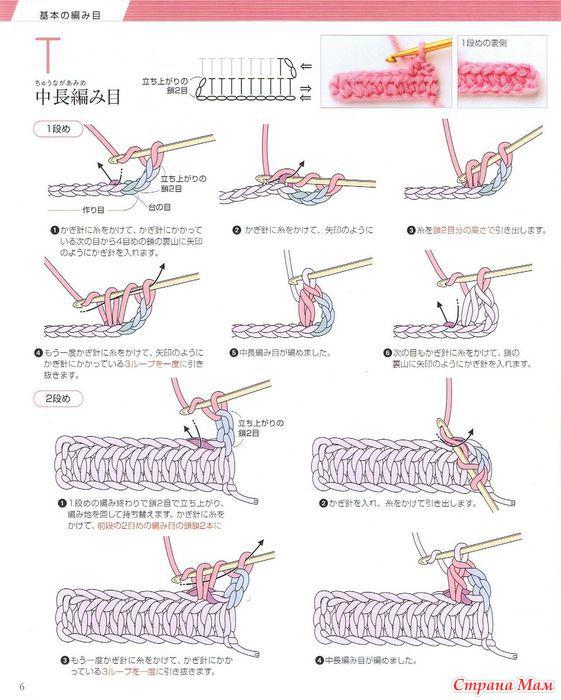 вязание крючком в картинках для начинающих где купить ковры