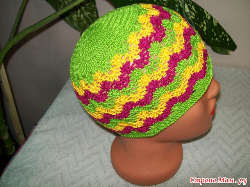 Страна мам вязание крючком детям шапочки 770