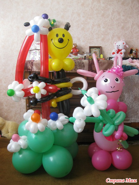 Фигуры из воздушных шаров
